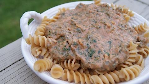 Healthy Creamy Pasta Sauce