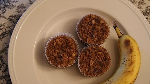 Healthy Oatmeal Muffins