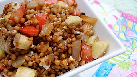 Sumer Wheatberry Salad