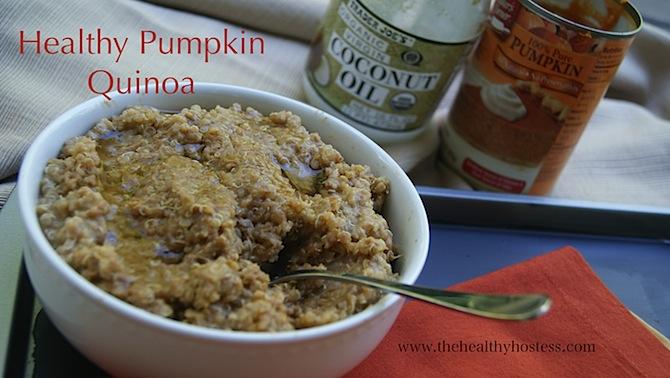 Healthy Pumpkin Quinoa