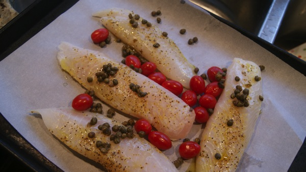 Simple Lemon Caper Tilapia