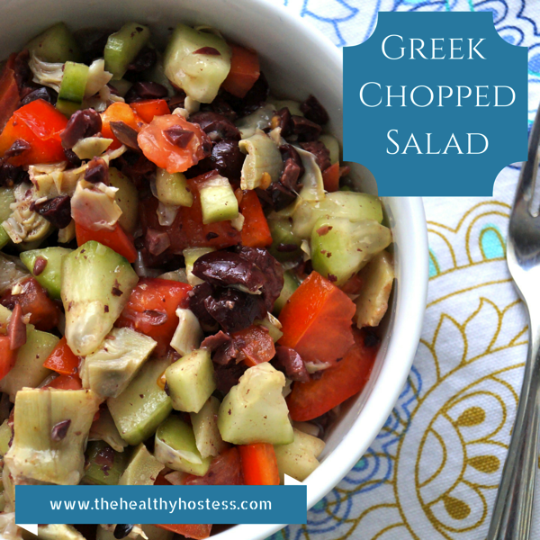 Greek ChoppedSalad
