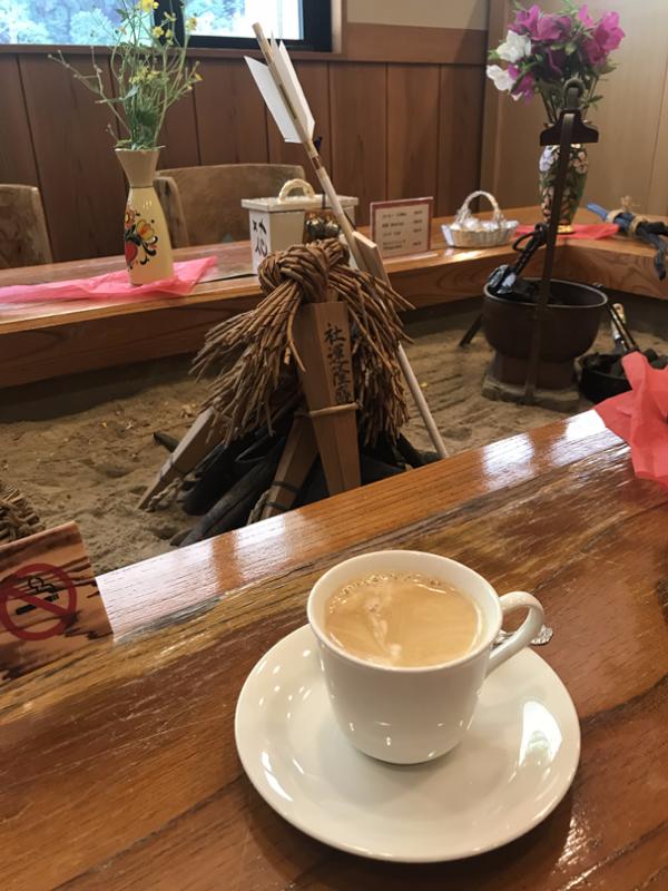 У традиционного японского очага «ирори»