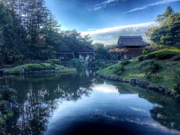 Сад на воде Исуйэн  – потаённая красота в сердце Нара