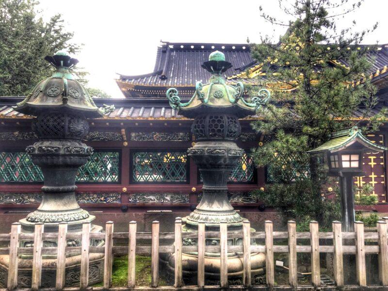 Никко Тосёгу, храмовая архитектура после Токугава