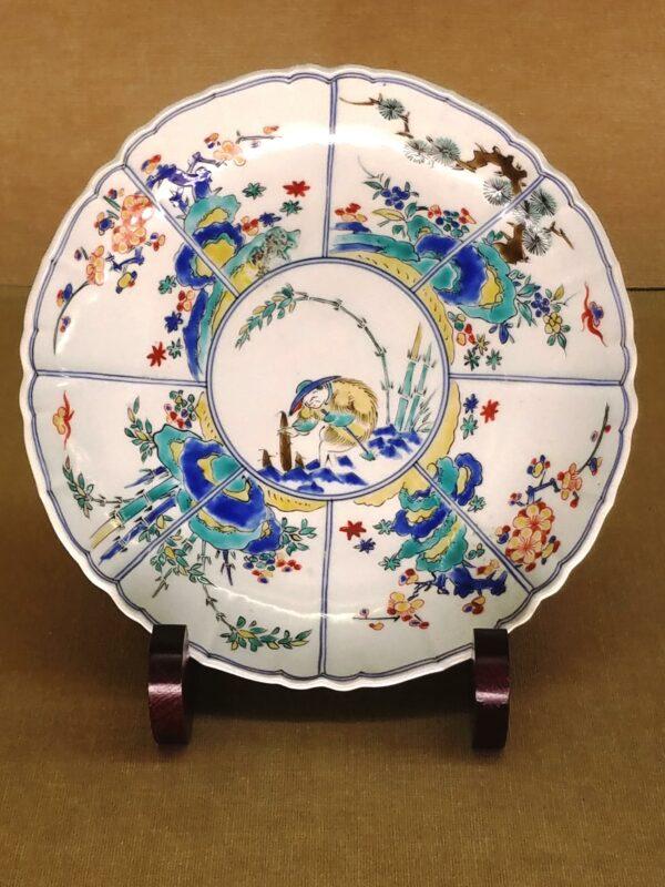 """Дальнейшее совершенствование техники """"нигосидэ"""" и поиск новых насыщенных оттенков и ярких красок к началу 18 века"""