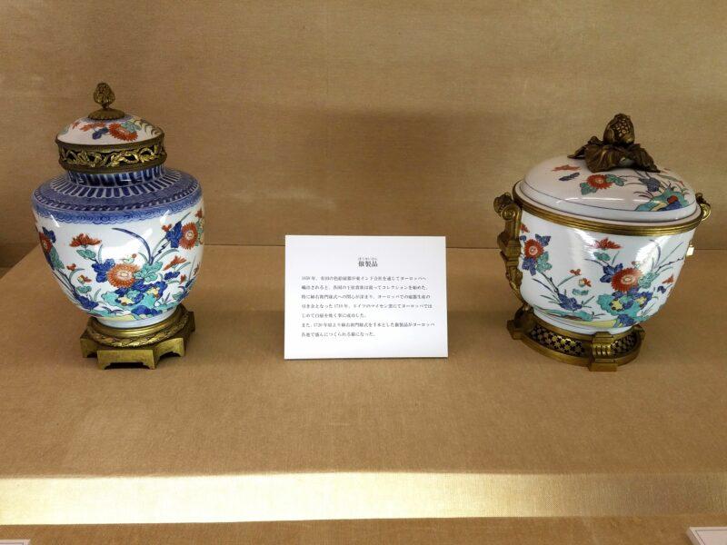 """Подражание стилю Какиэмон – особенно в этом преуспела парцелиновая мануфактура Майсен в Саксонии, успешно копировавшая технику """"нигосидэ"""" с 1720-х годов"""