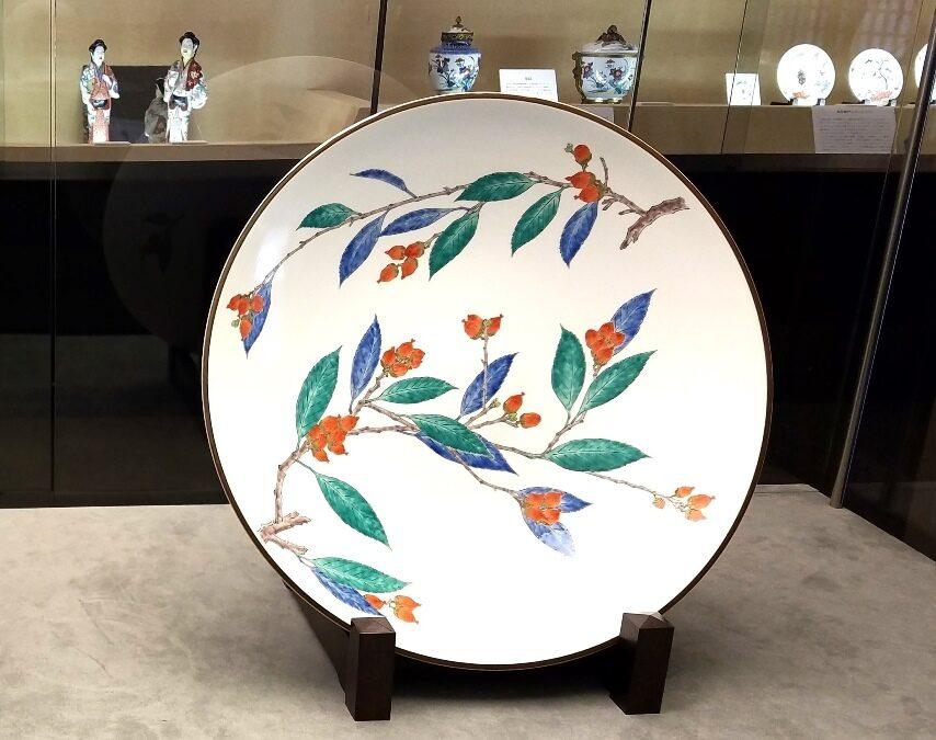 Легендарная керамика Какиэмон – фарфор «хурма в молоке»