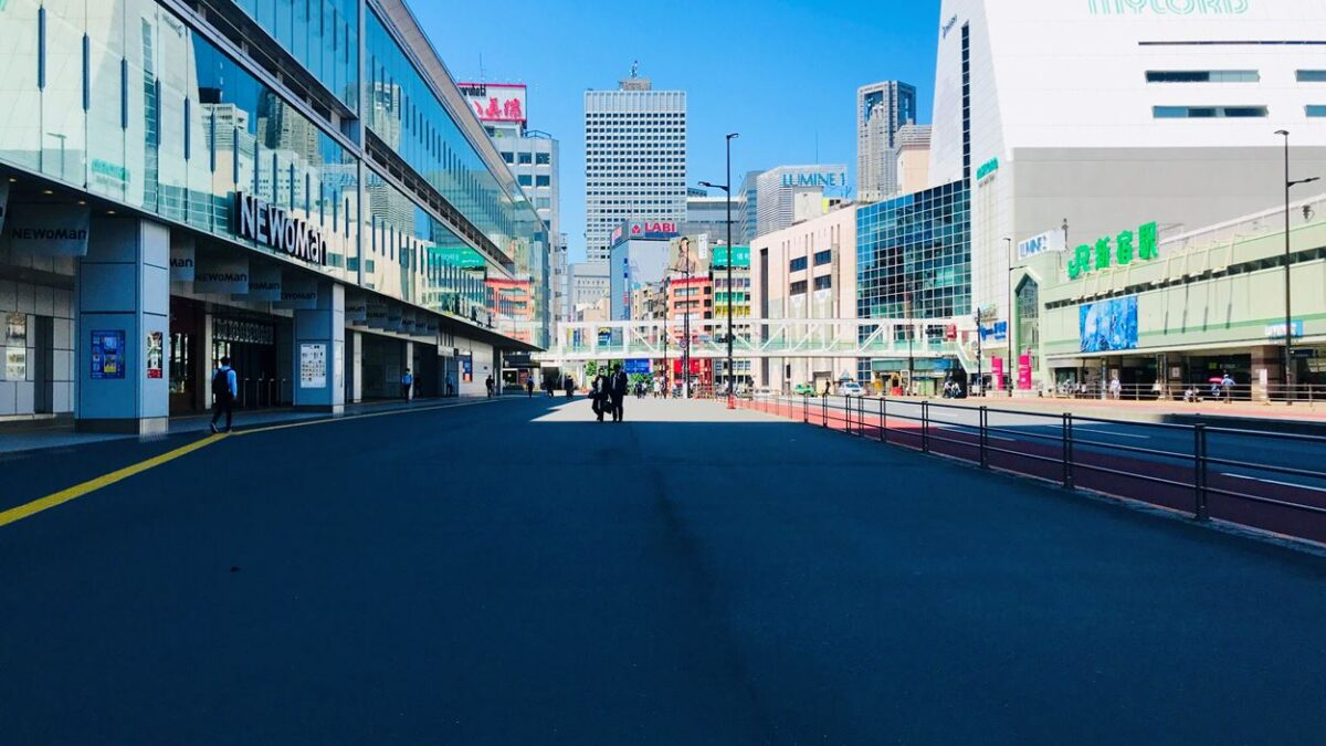 Опустевшее сердце Токио – Синдзюку без толпы