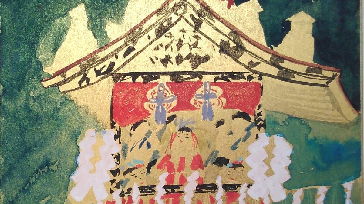 Киотоский Гион-мацури в кафе «Ёжик»? В этом году так!