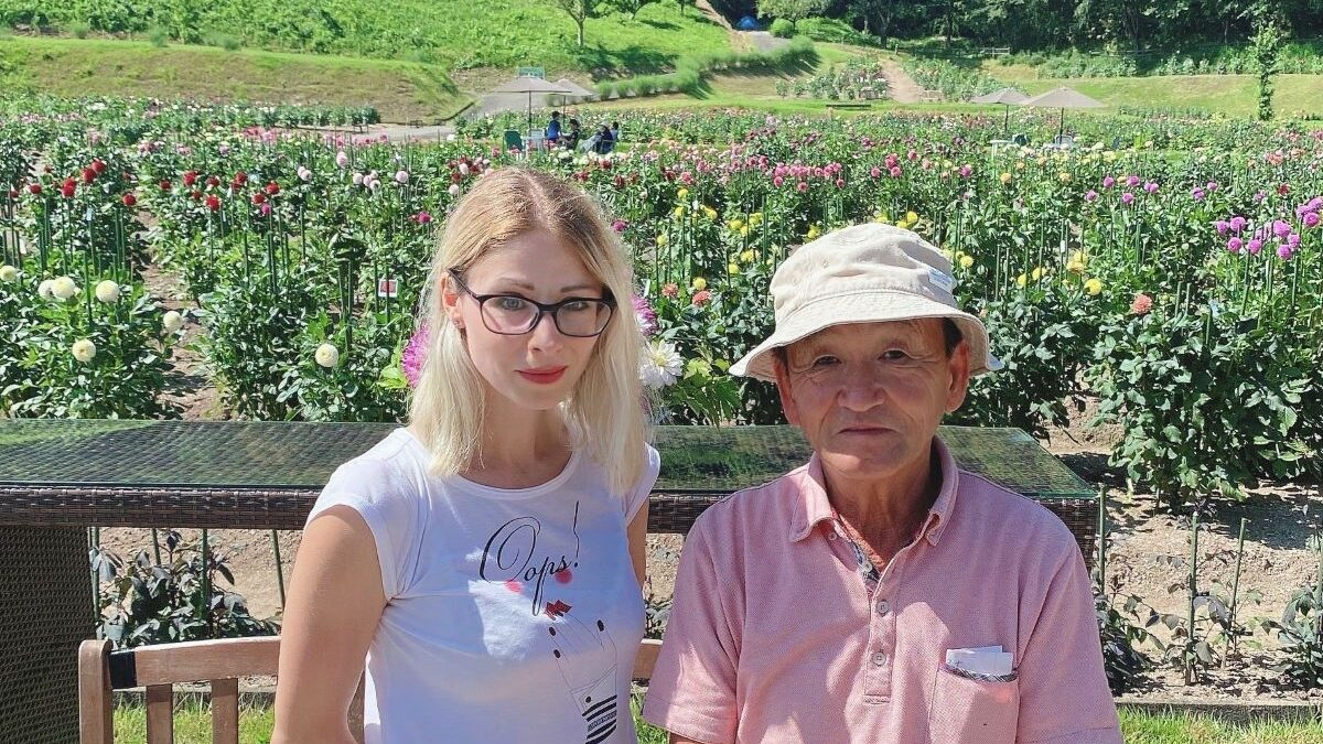 Легенда Васидзава Кодзи – как инженер стал  королем георгин