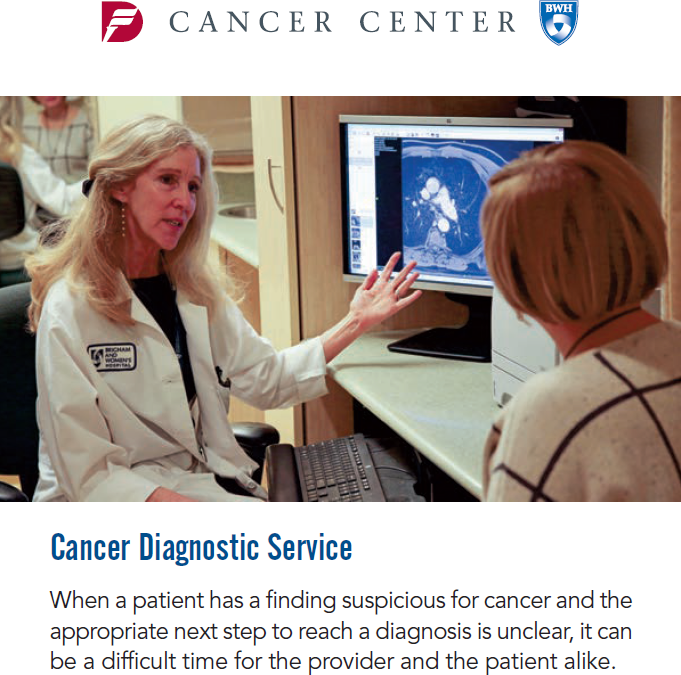 Cancer Diagnostic Service Handout