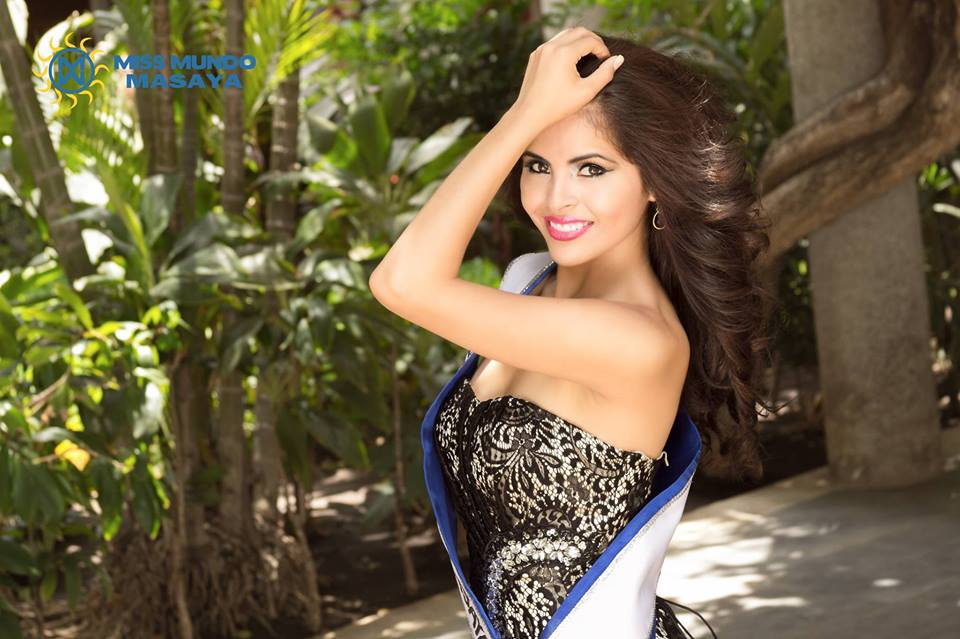 Stefania Alemán  – Miss Mundo Nicaragua 2015