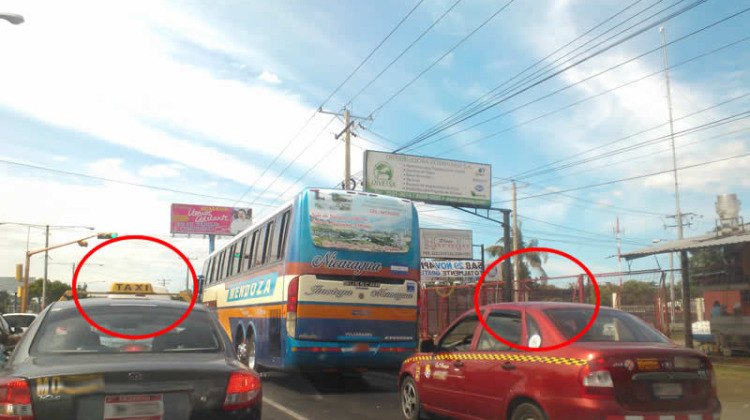 Consejos para tomar un taxi en Managua