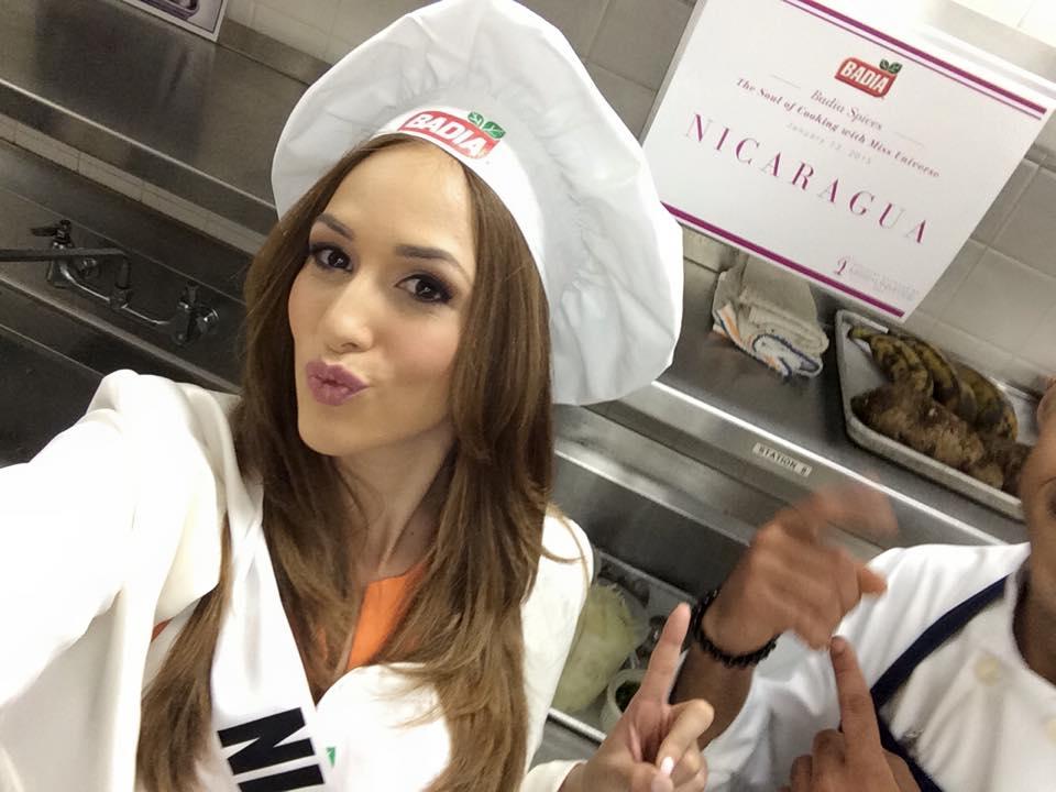 Miss Nicaragua logra 2do Lugar en competencia gastronomica