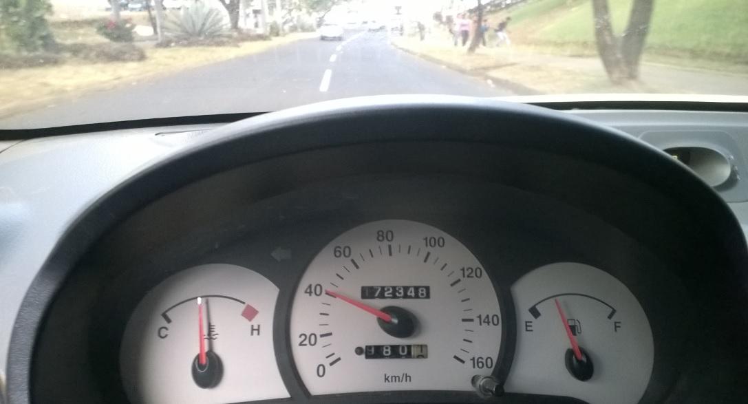 Limite de Velocidad permitida en Managua