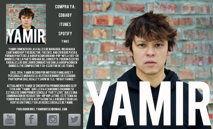 Yamir lanza su debut EP