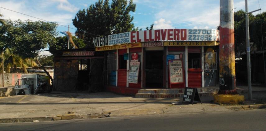 Cerrajeria el Llavero de la rotonda Centroamérica
