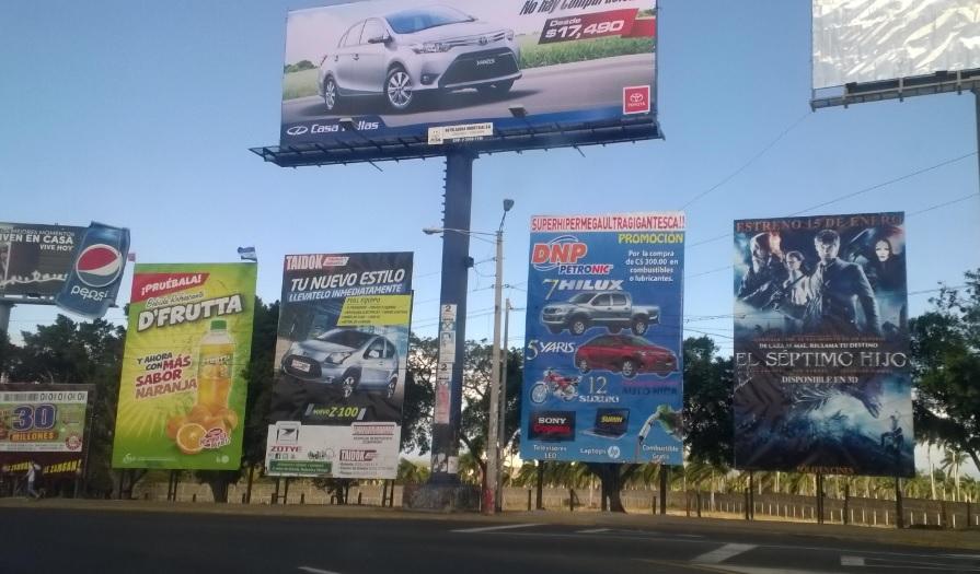 Como funciona la Publicidad en Nicaragua