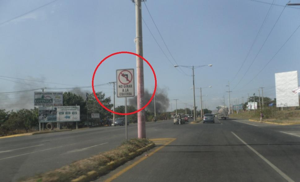 Como circular de forma correcta en la Carretera Nueva a León