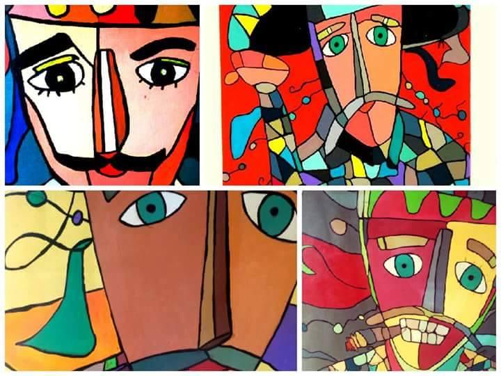 Espectaculares pinturas Nicaragüenses de Denis Granizo