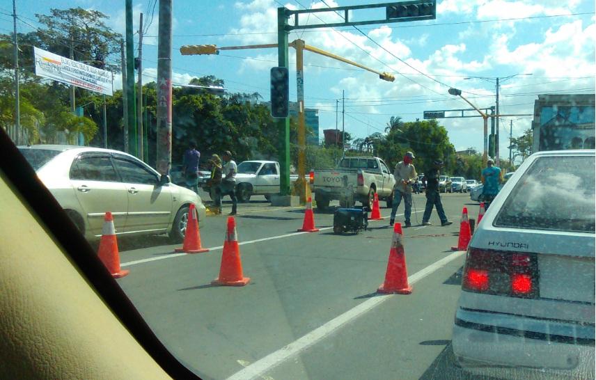 Nuevo sistema para controlar el tráfico en Managua
