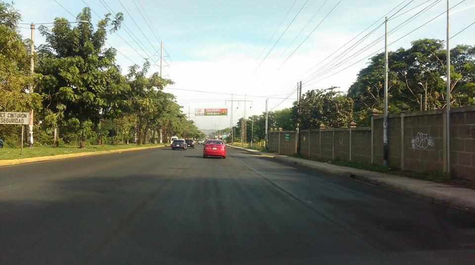 La nueva Ampliación de la Carretera a Masaya