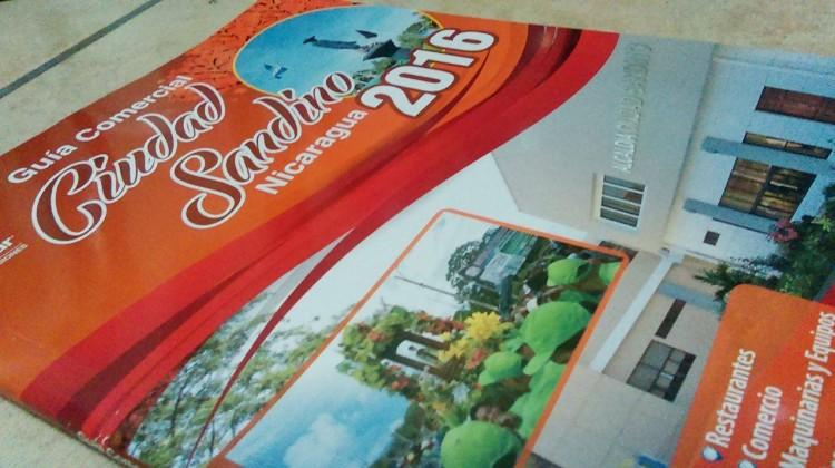Revista Comercial de Ciudad Sandino ofrecida por Publicar