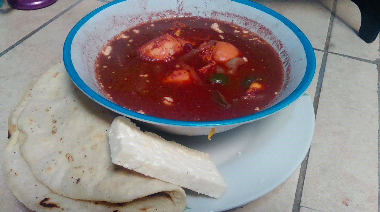 Costo de la Tradicional sopa de Frijoles