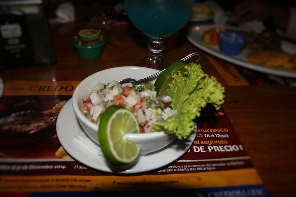 5 lugares donde comer ricos Ceviches en Nicaragua
