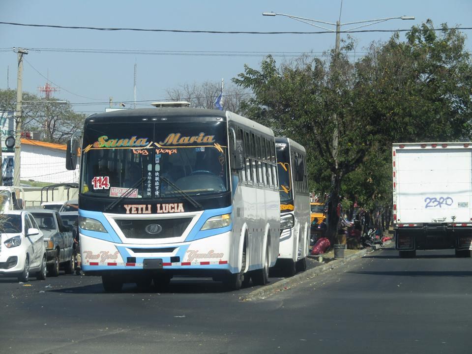 Rutas de Managua que circulan por terminales de buses interurbanos