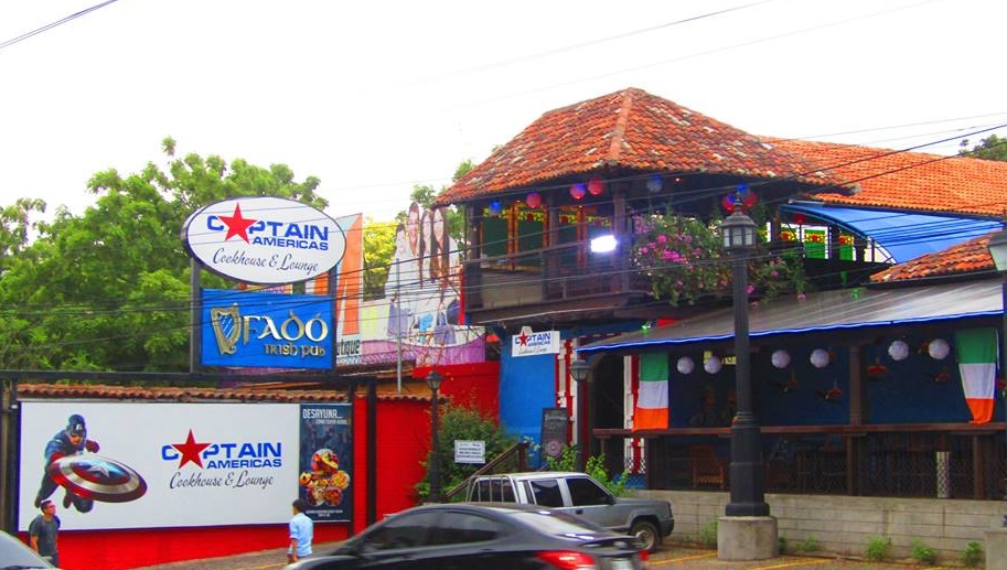 Restaurante Captain America's Cookhouse and Lounge