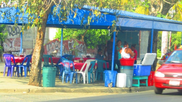 Los típicos comedores de Baho y Vigorón en Managua
