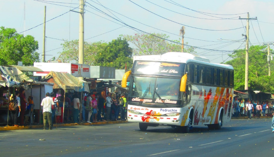 Horarios de buses en Nicaragua
