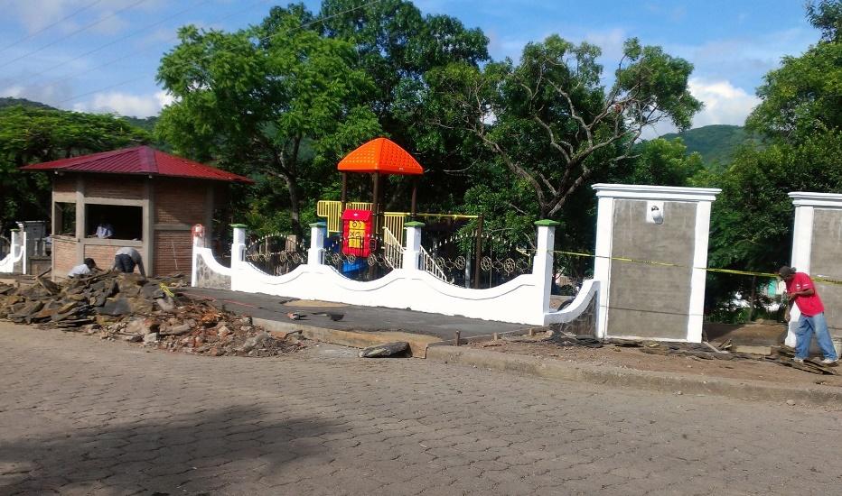 Nicaragua desarrolla más parques modernos en comunidades remotas