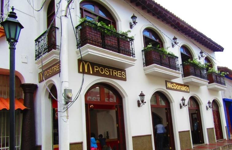 El nuevo McDonald's en León