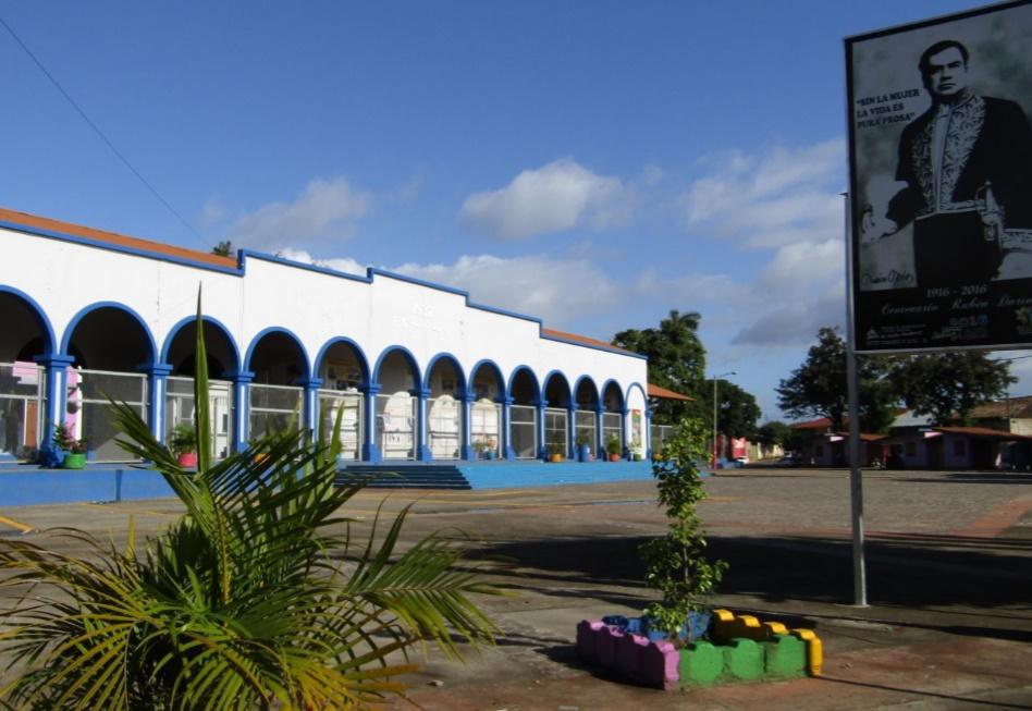 Estación del Ferrocarril en Masaya