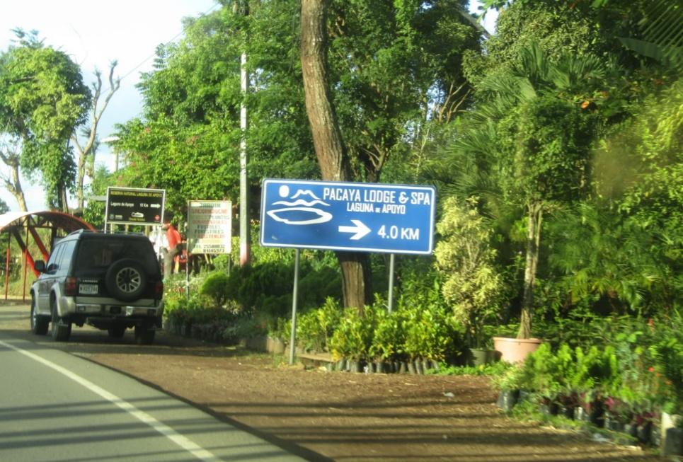 Destinos turísticos de la Laguna de Apoyo