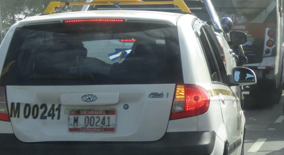 Irtranma fumigara taxis en Managua