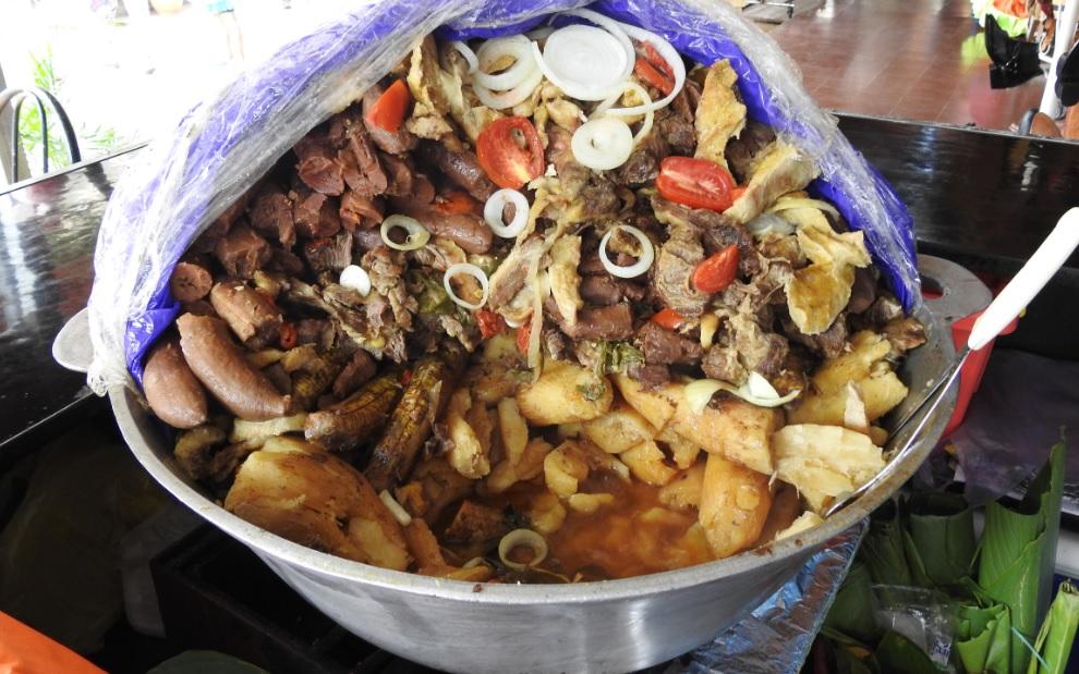 ¿Dónde comer un delicioso Baho en Managua?