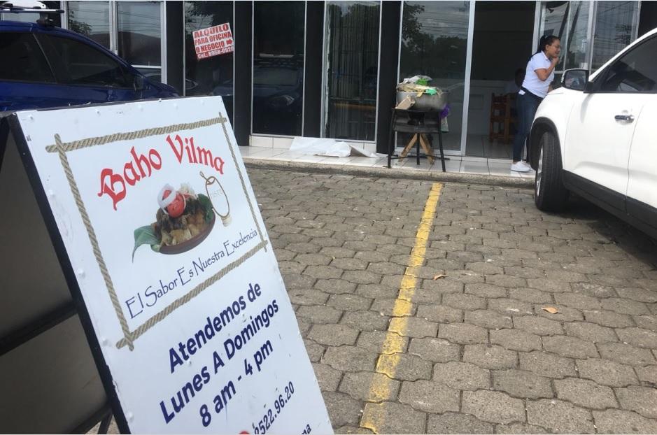 Baho Vilma nueva sucursal en km 9.4 Carretera a Masaya