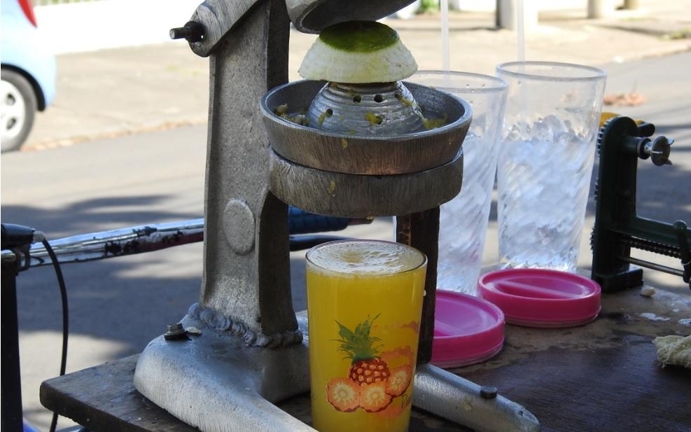 ¿Dónde beber jugo de naranja 100% natural en Managua?