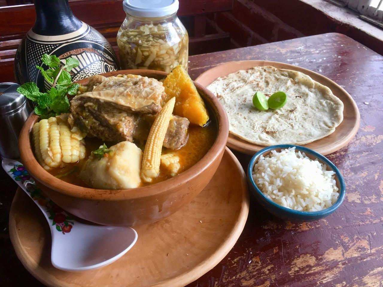 Sopa de Costilla Alta en Managua