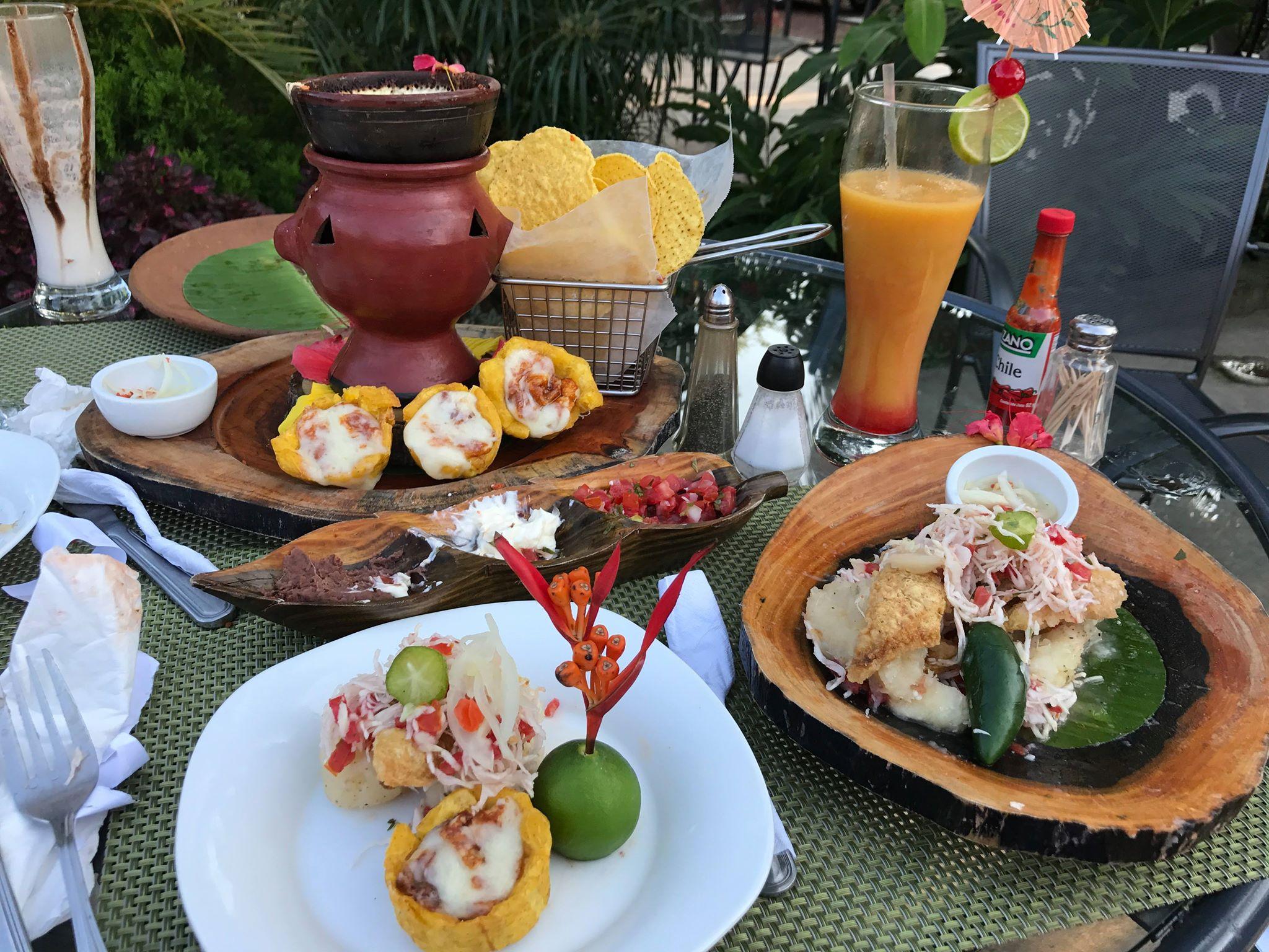 Restaurante La Casona en Catarina, Nicaragua