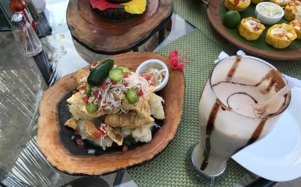 Deliciosos antojos Nicaragüenses en La Casona Catarina