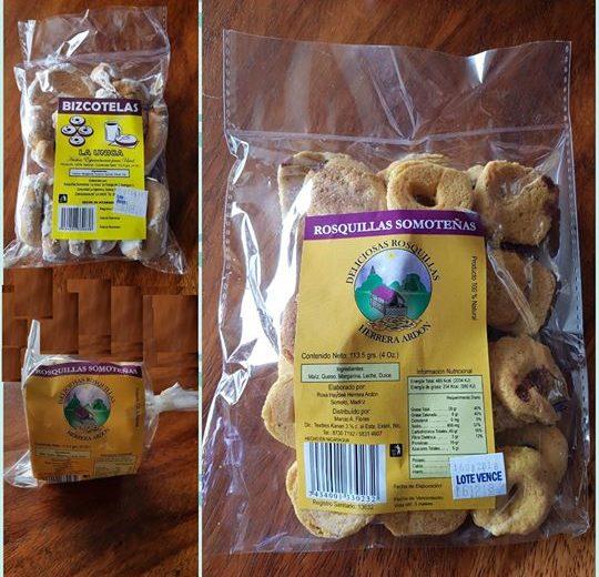 Venta de rosquillas somoteñas en Managua