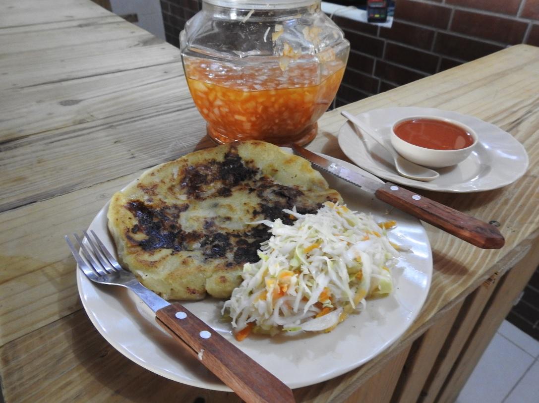 ¿Dónde comer pupusas en Carretera Norte Managua?