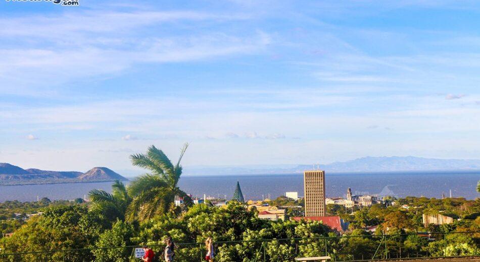 El hermoso mirador que tiene la ciudad de Managua