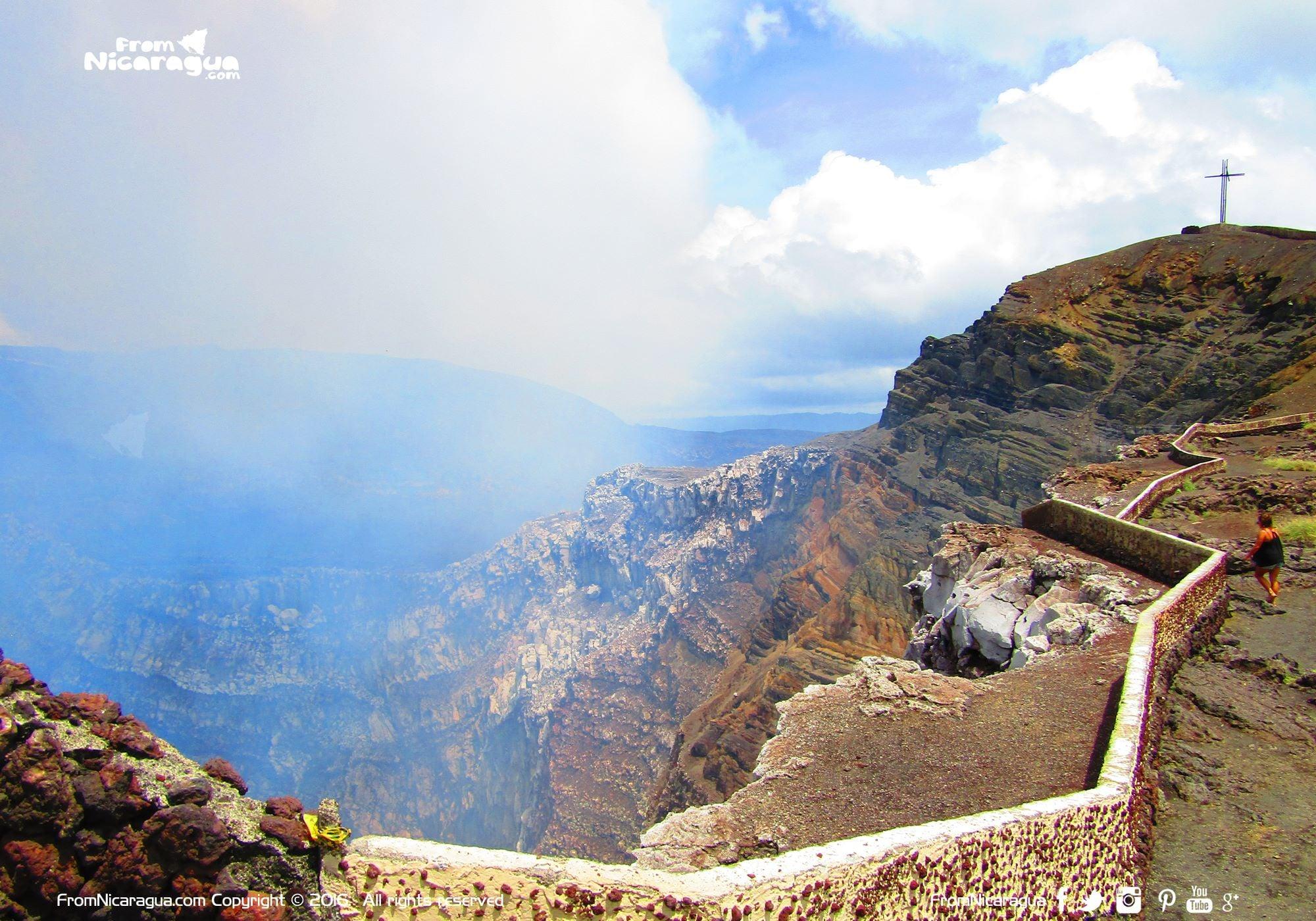 Volcán Masaya un gran atractivo en Centroamérica