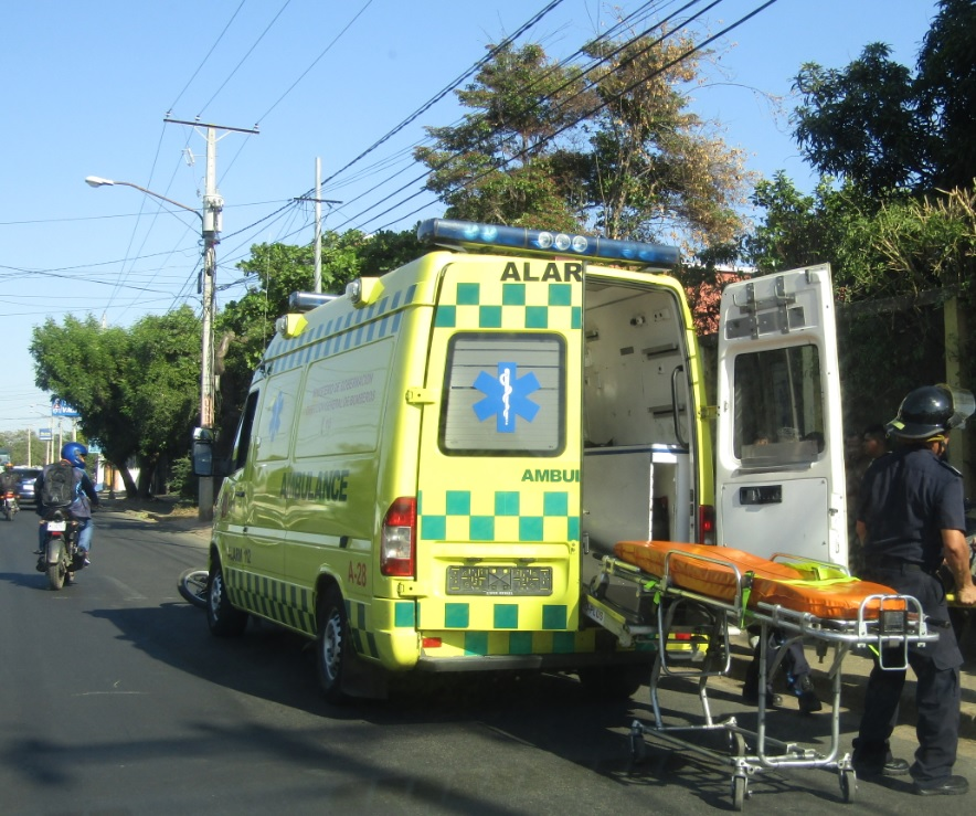 ¿Cómo solicitar una ambulancia en Nicaragua?